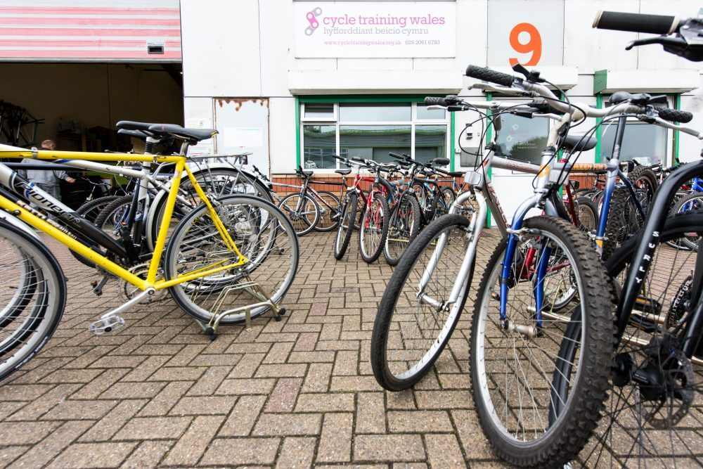 Cardiff Cycle Workshop offers a range of recycled 2nd hand bikes for sale every Friday 1-5pm.
